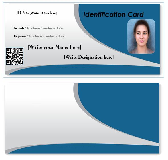 id card template download