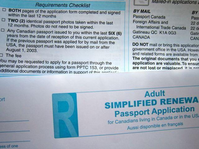 5C's Que Pasa » Passport renewal!