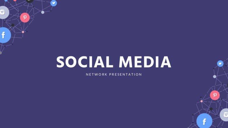 Social Media Keynote Template - Free keynote Presentation