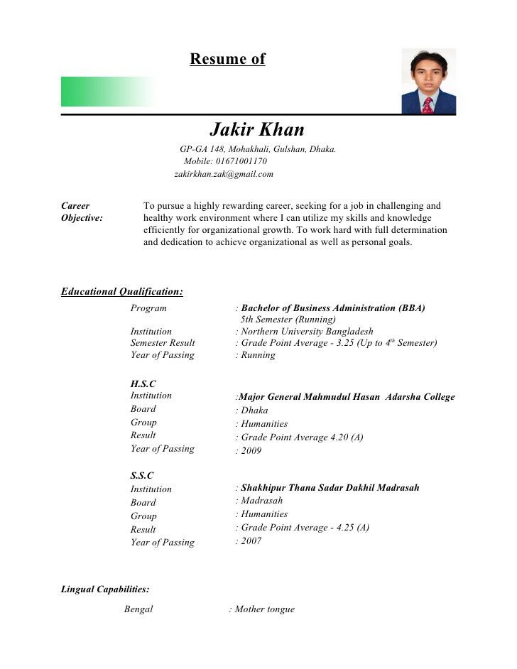 normal resume format normal resume format pdf download printable