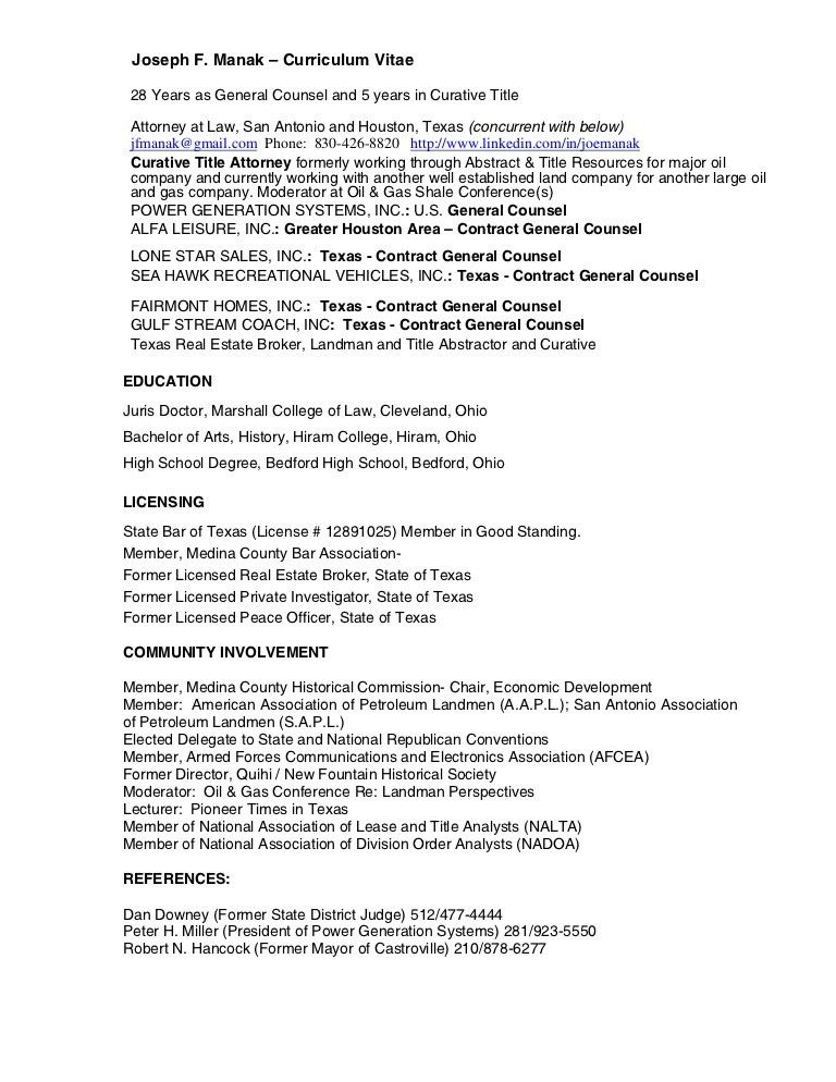 2. petroleum landman resume examples. jared thomas independent ...