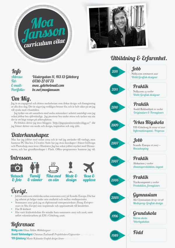 curriculum graphic design best 25 graphic designer resume ideas