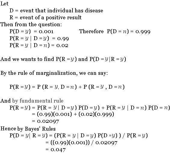 Bayes' Rules