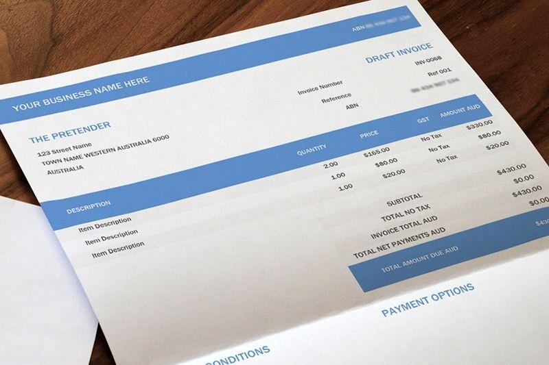 Download Invoice Template Xero | rabitah.net