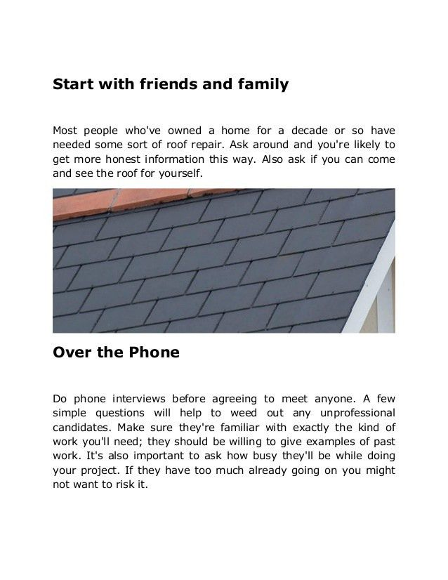 Brisbane Roofing Quotes - What To Look For From A Roofing Contractor