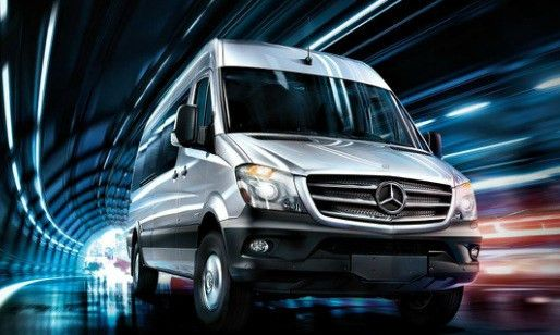 Vehicle Wrap Templates for the Mercedes Sprinter Cargo Van