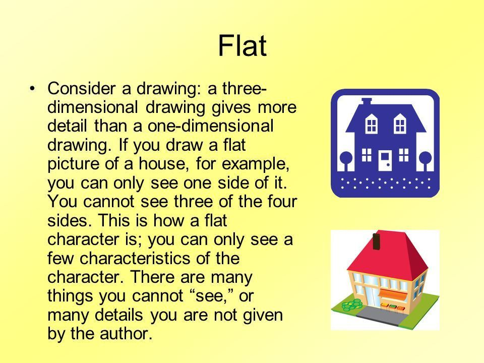 Round/Flat Characters - ppt video online download