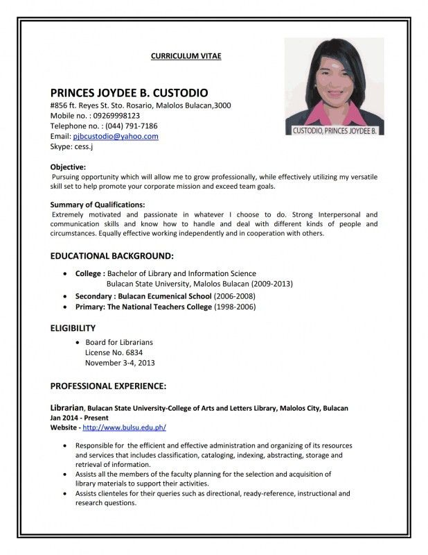 How To Make A Resume For College 19 How To Write A Resume For ...