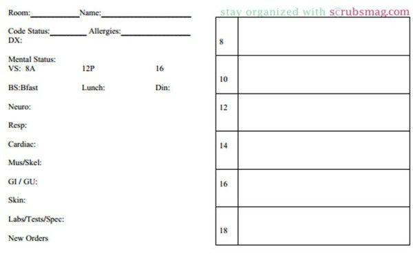 Nurse Brain Sheets - Half Size | Scrubs - The Leading Lifestyle ...
