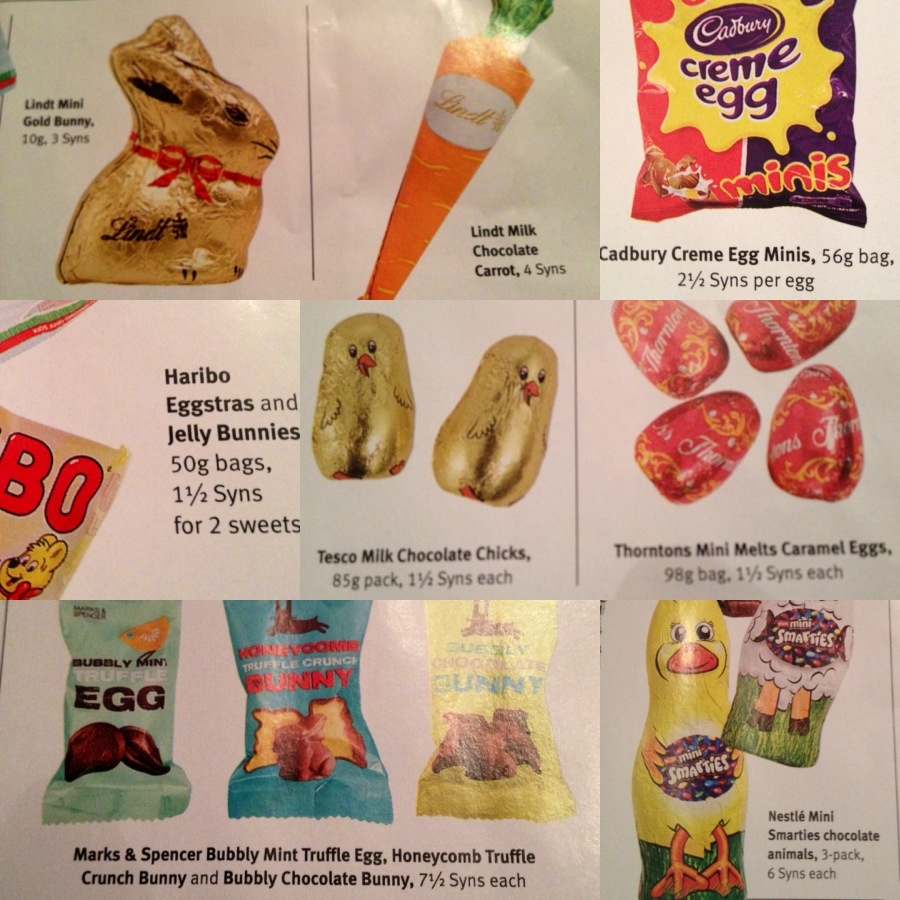 1000 Images About Slimming World Treat Syns On Pinterest