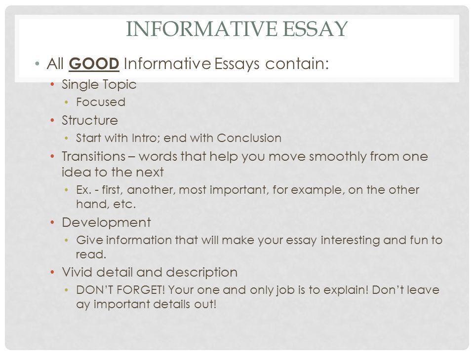 9 TH ENGLISH LIT/COMP INFORMATIVE ESSAY COMPARE/CONTRAST. - ppt ...