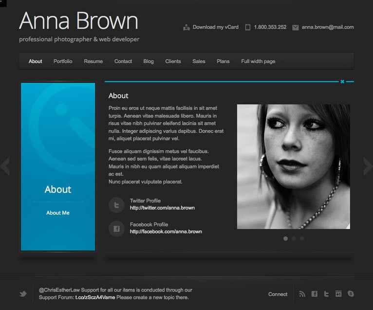 28+ [ Resume Website ] | Web Design Resume Sample Sample Resumes ...
