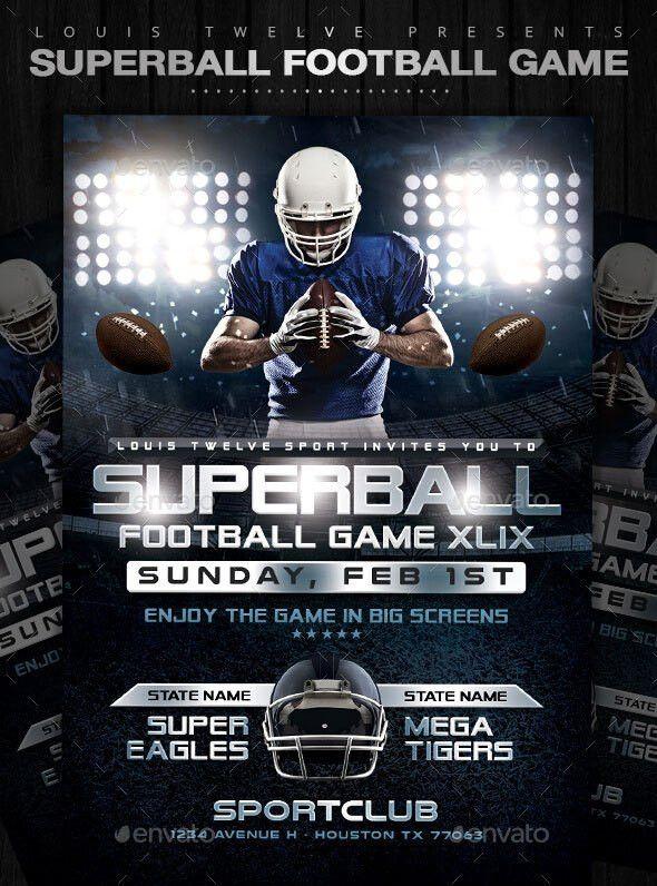 25 Best Sport PSD Flyer Templates | print | iDesignow