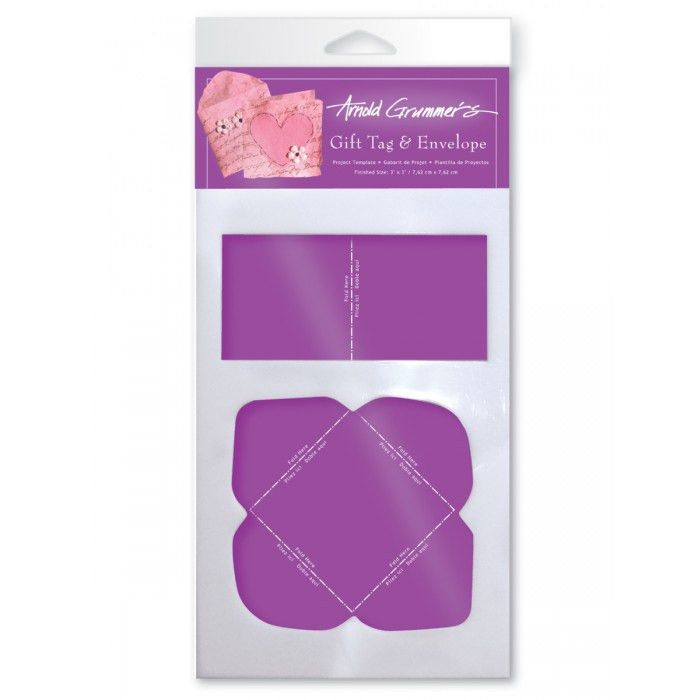 Medium Template: Gift Tag & Envelope