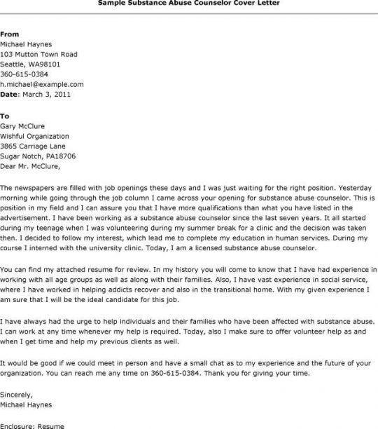 Cover Letter   Sample Resumes