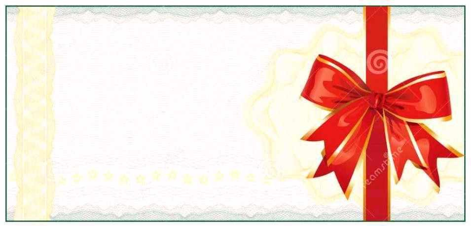 Christmas Gift Vouchers Templates Free   Certificate234