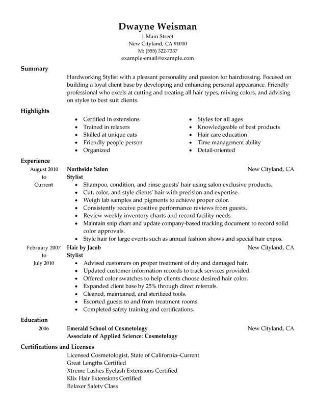 100+ [ Fitness Resume Sample ] | Best 25 Online Resume Template ...