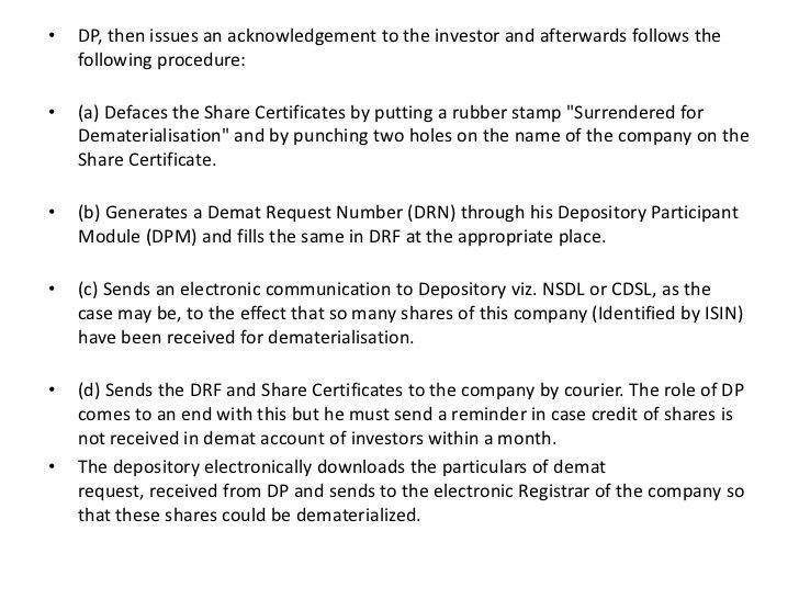 Demat & Remat Process, NSDL, and CDSL   ಮಹಾದೇವ ಧರಿಗೌಡರ