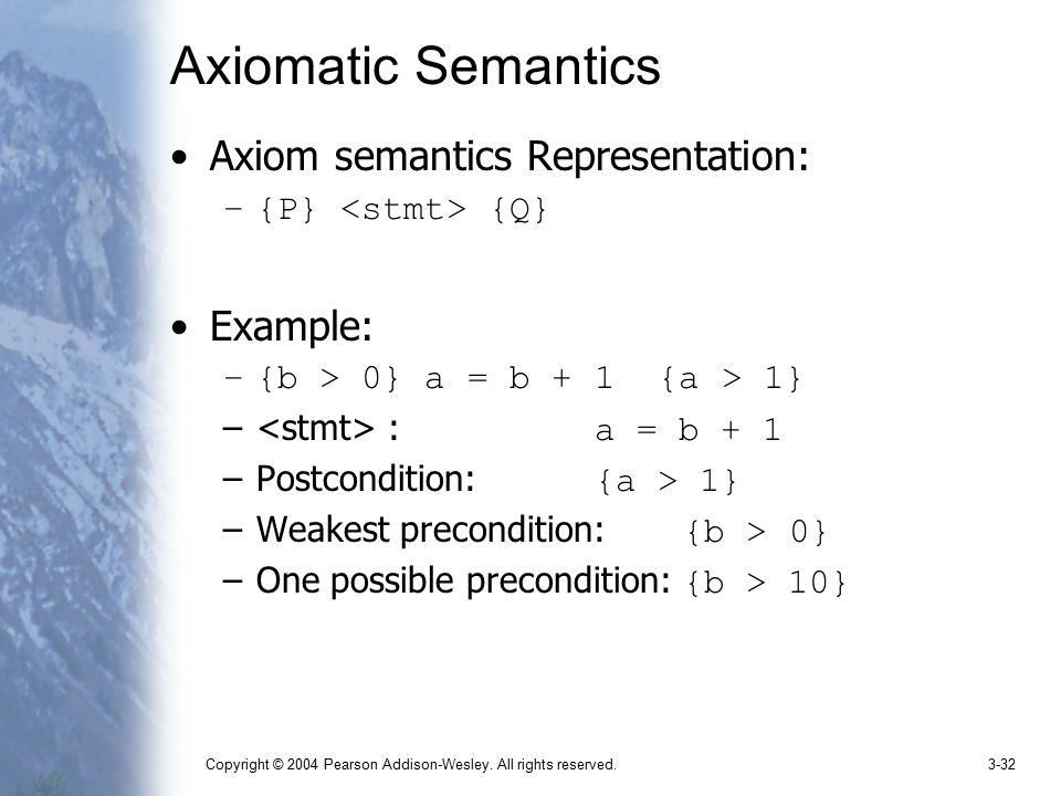 Describing Syntax and Semantics - ppt video online download