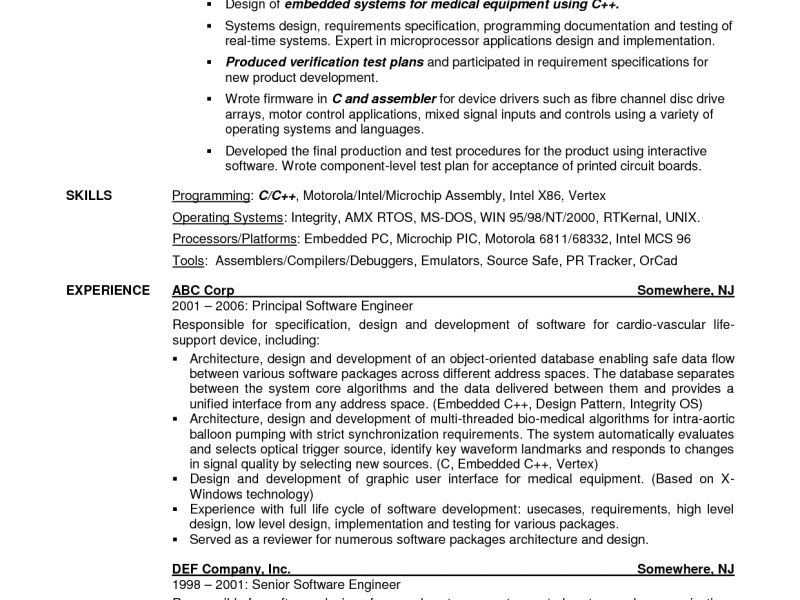 Download Charted Electrical Engineer Sample Resume ...