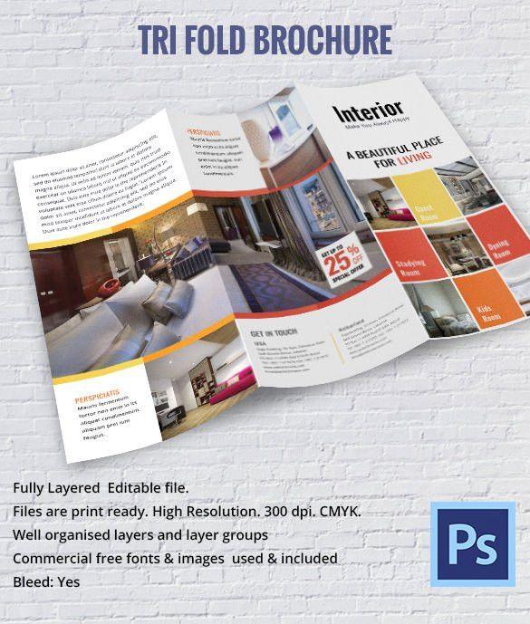 17+ Interior Decoration Brochure – Free Word, PSD, PDF, EPS ...
