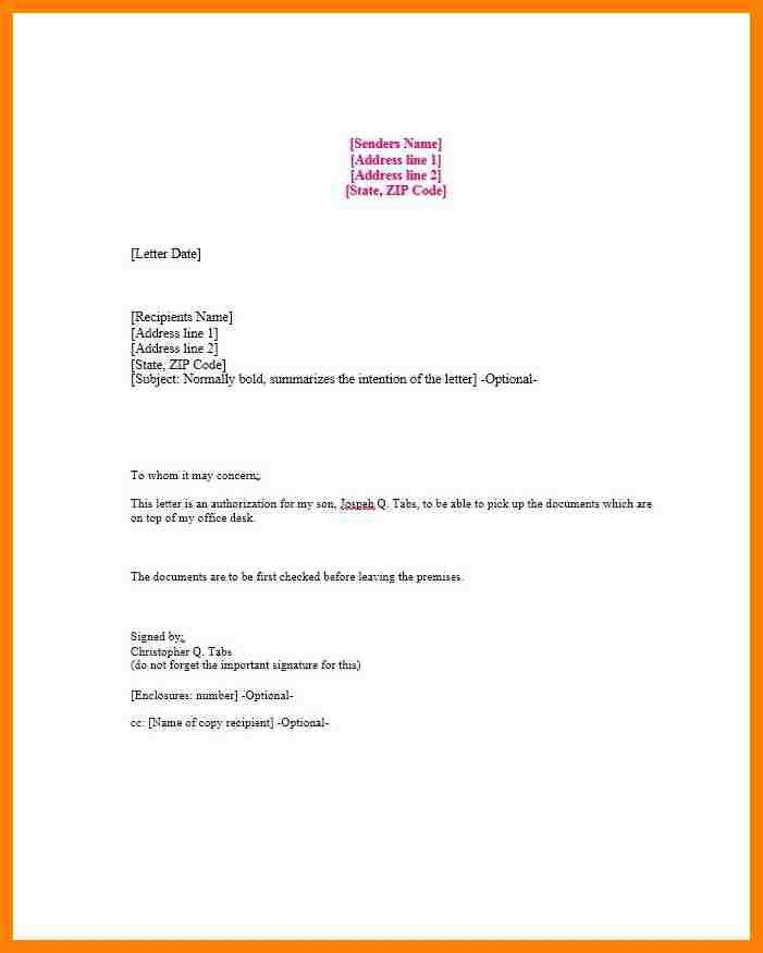 Captivating Sample Credit Card Authorization Letter. Authorization Letter .
