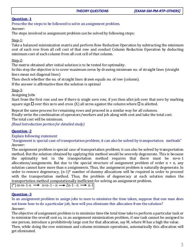 Assignment Chapter - Q & A Compilation by Niraj Thapa