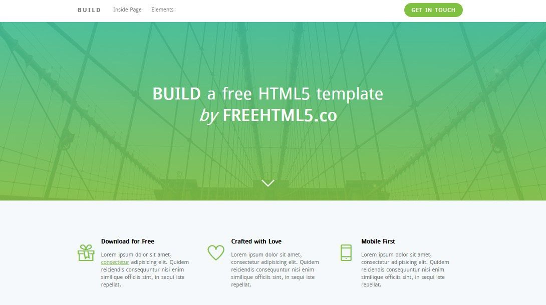 100+ Best Free Responsive HTML5 CSS3 Templates 2017