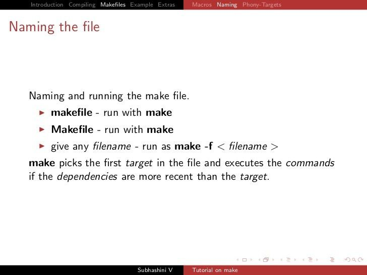makefiles tutorial