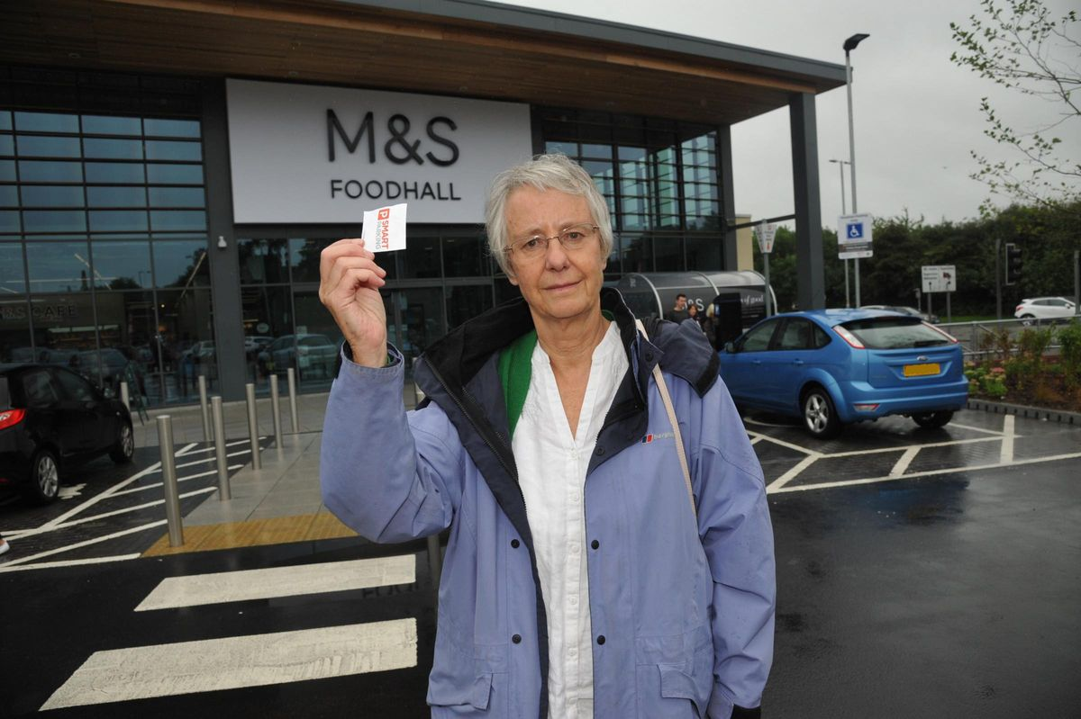 Parking fines for shoppers at new M&S | This Is Wiltshire