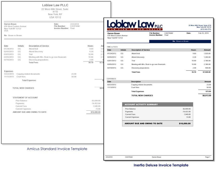 Download Law Firm Invoice | rabitah.net
