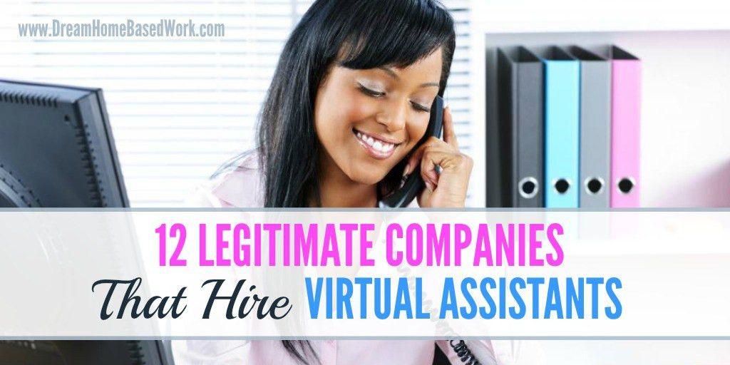 12 Legitimate Companies that Hire Virtual Assistants