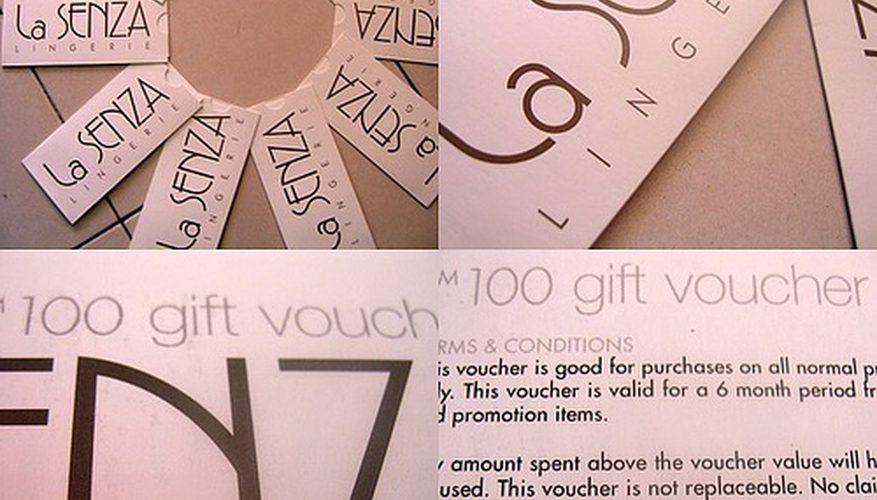 How to Make a Gift Voucher for a Beauty Salon | Bizfluent