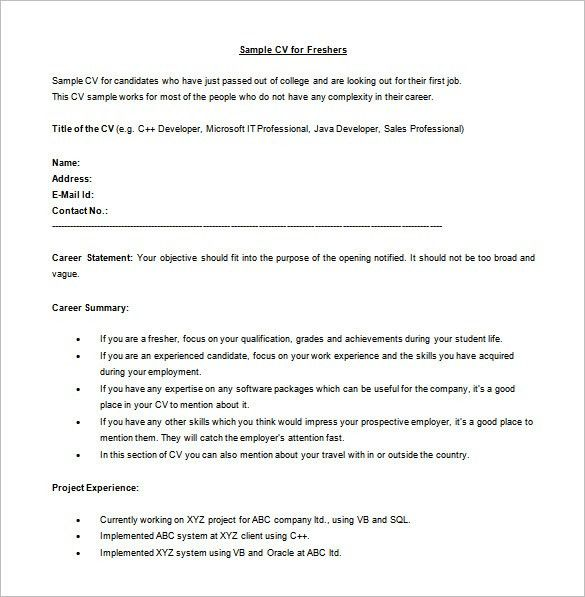 Java Developer Resume Template – 11+ Free Word, Excel, PDF,PS ...