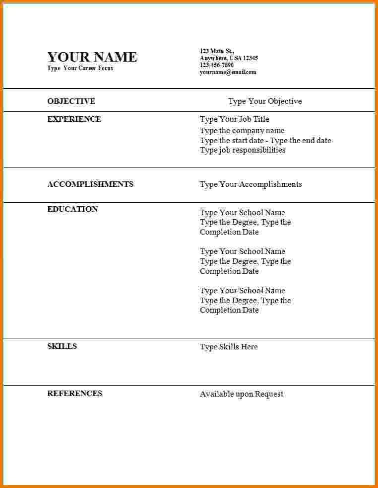 Perfect Resume Template. My Perfect Resume Examples | Art Resume ...