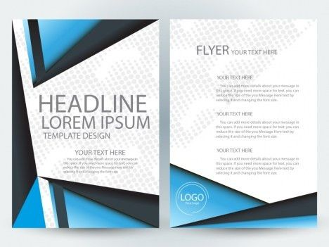Flyer template free vectors stock for free download about (359 ...