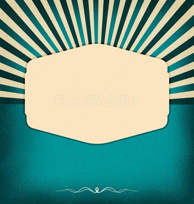 Vintage blank design template - Creadib.com