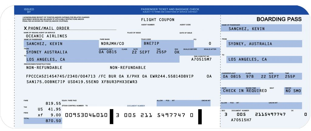 Fake Ticket Template Free Liability Release Form Payment Airline .