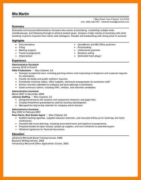 10+ office administrator resume | billing clerk resume