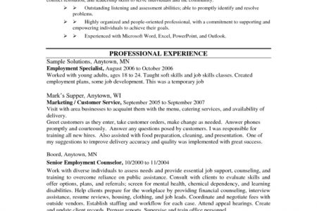 Sales Counselor Cover Letter - Resume Templates