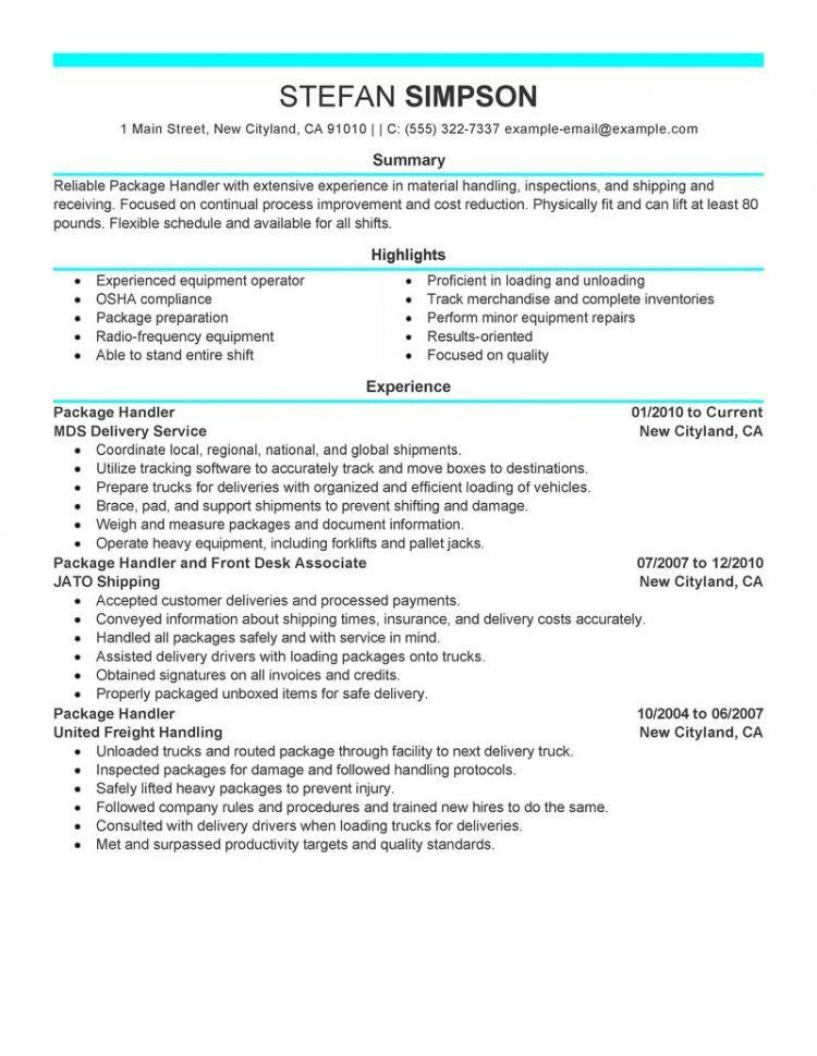 Enchanting Material Handler Job Description For Resume 28 With ...
