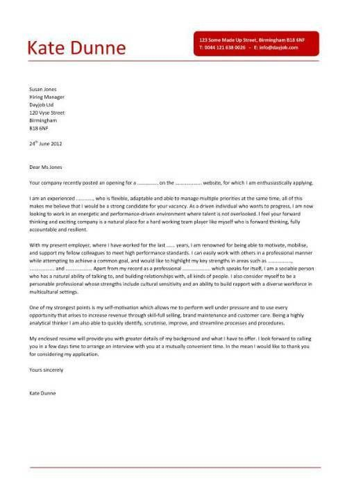 retail sales clerk cover letter sample. sample cover letters sales ...