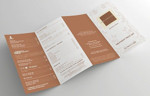 DL Folded Leaflets Printing, 6 and 8 pages | Free Delivery | Just ...