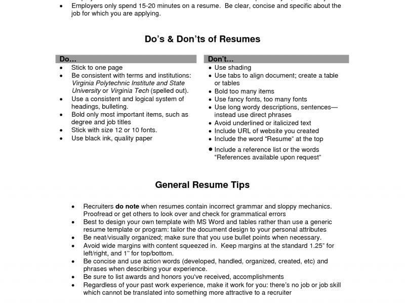 lines for resumes