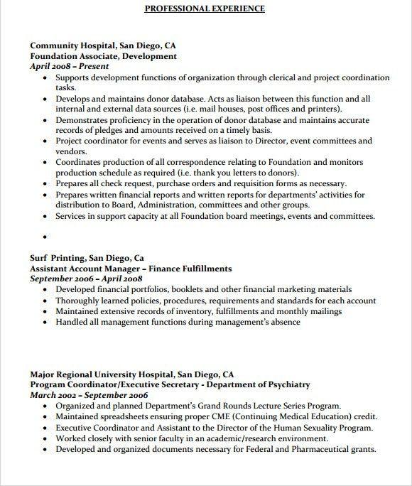 Sample Resume For Database Administrator Database Administrator