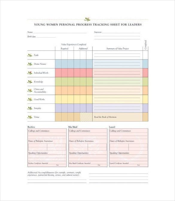 Progress Tracking Template – 11+ Free Word, Excel, PDF Documents ...