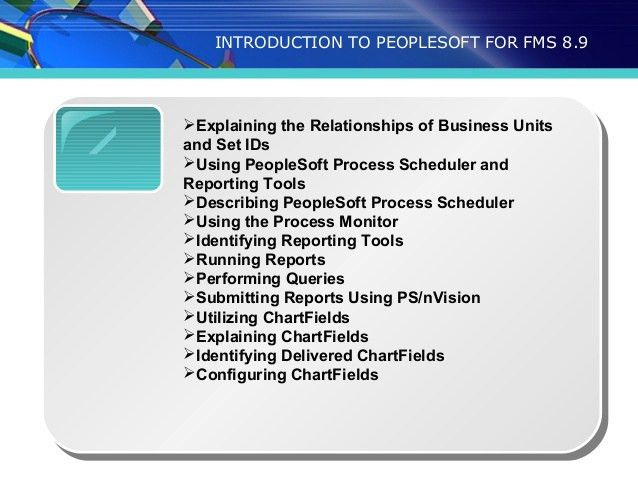 peoplesoft financials training | peoplesoft financials training onlin…