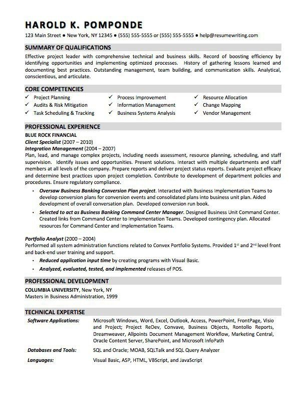 sap bw resume sample resume cv cover letter. sample resume for ...