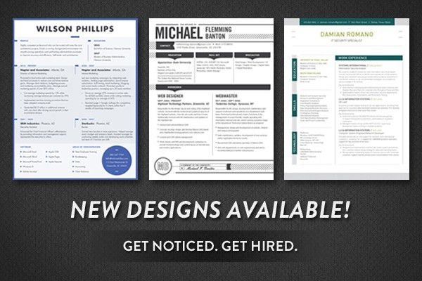 New Resumes Available - Loft Resumes Blog