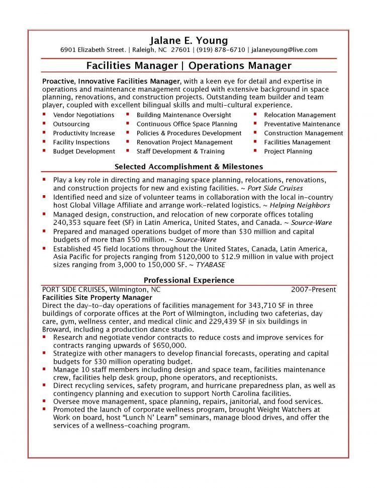Special Events Manager Resume Entertainment and Venue Manager ...
